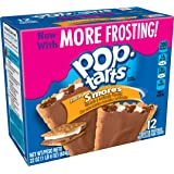 Pop-Tarts Breakfast Toaster Pastries, Frosted S'mores Flavored, 22 oz (12 Count)