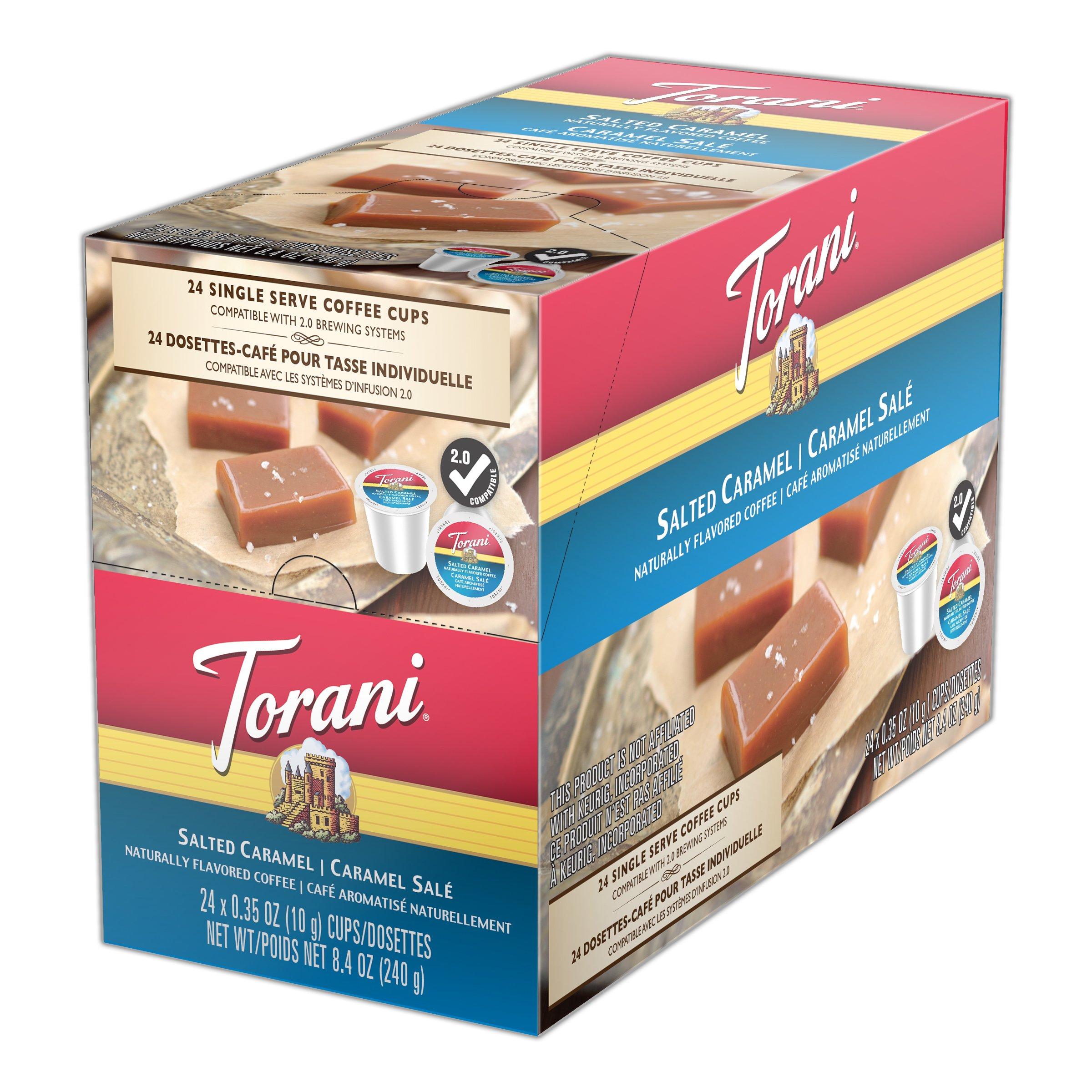 Torani Coffee, Salted Caramel, 24 Count