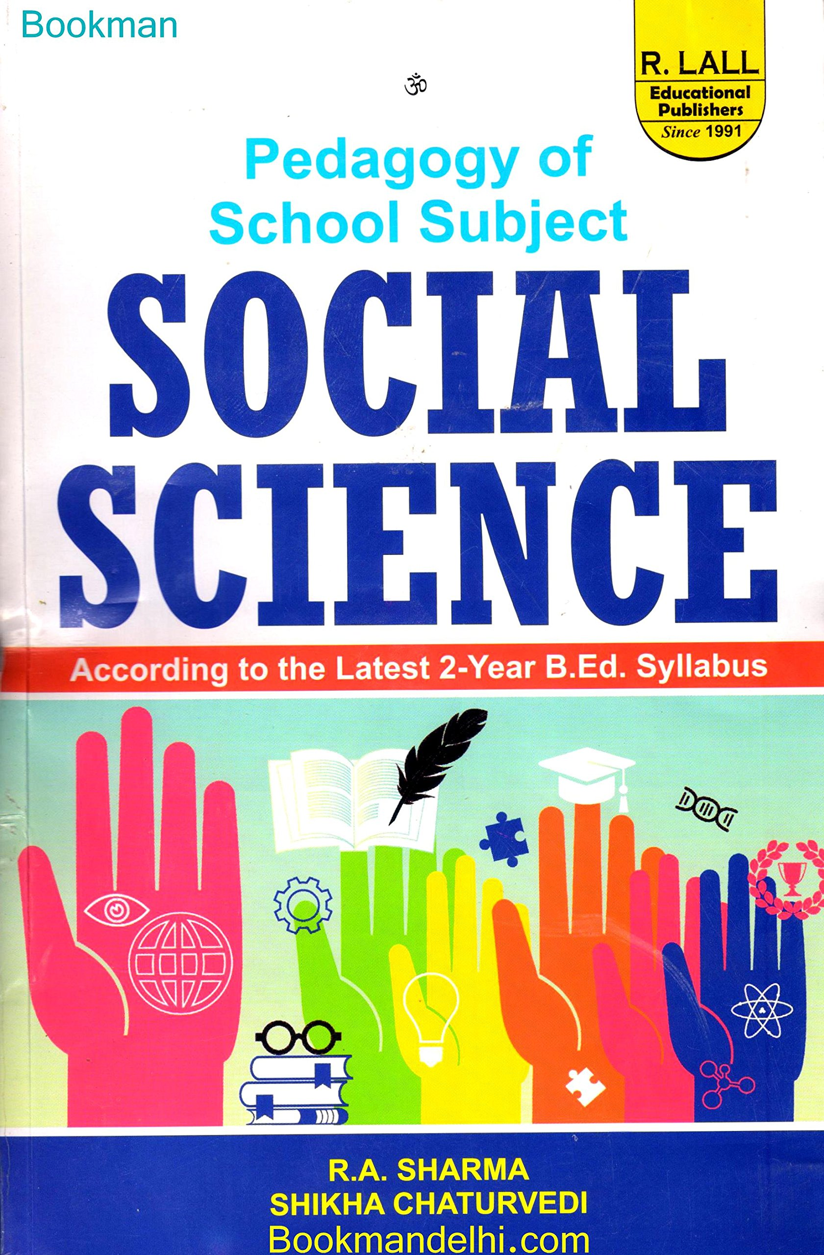 Buy Pedagogy Of School Subject Social Science Book Online At Low Prices In India Pedagogy Of School Subject Social Science Reviews Ratings Amazon In