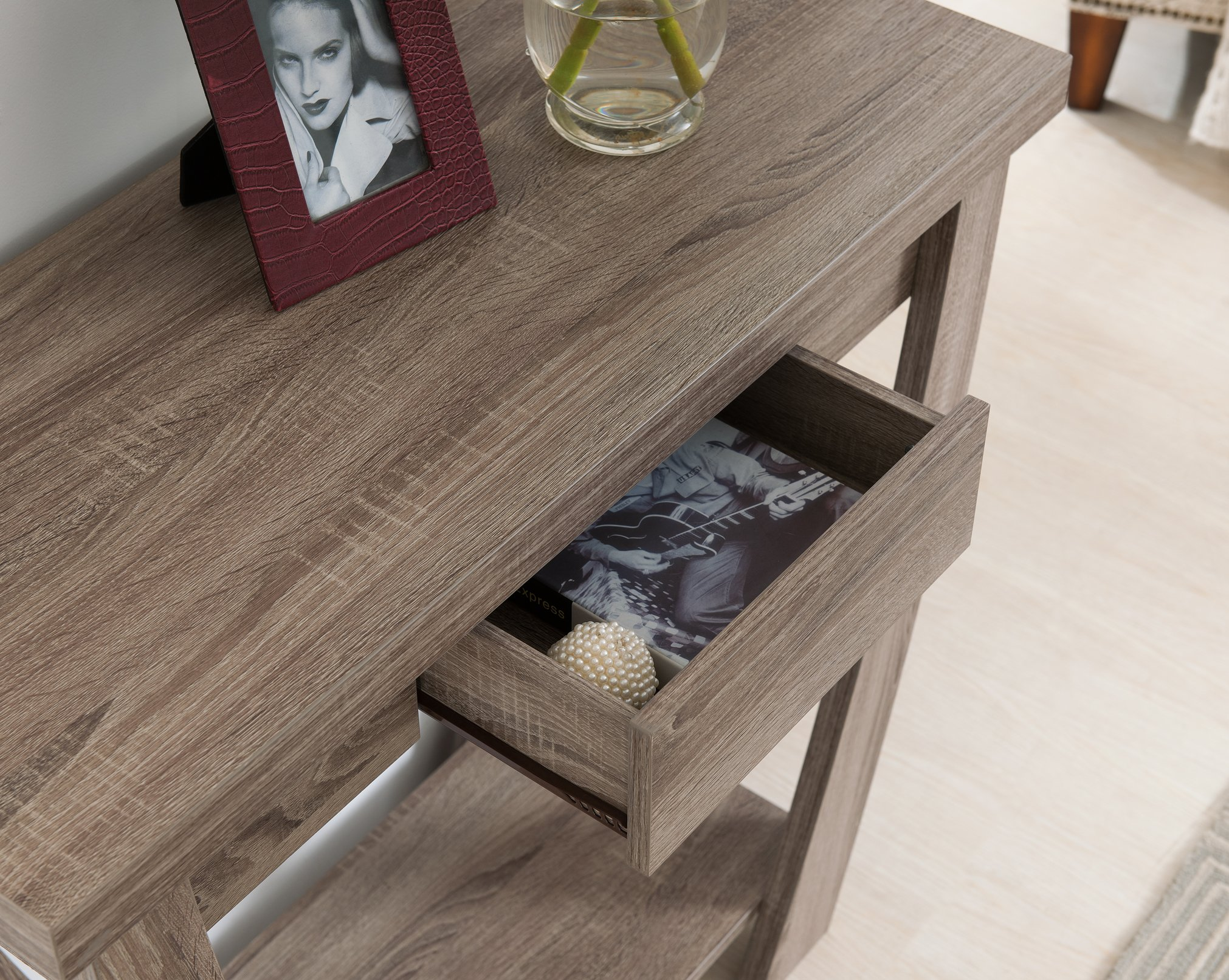 ioHOMES Bond 1 Drawer Console/Sofa Table, Light Oak by HOMES: Inside + Out (Image #3)