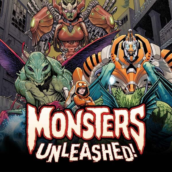 Monsters Unleashed (2017-) (Issues) (5 Book Series)
