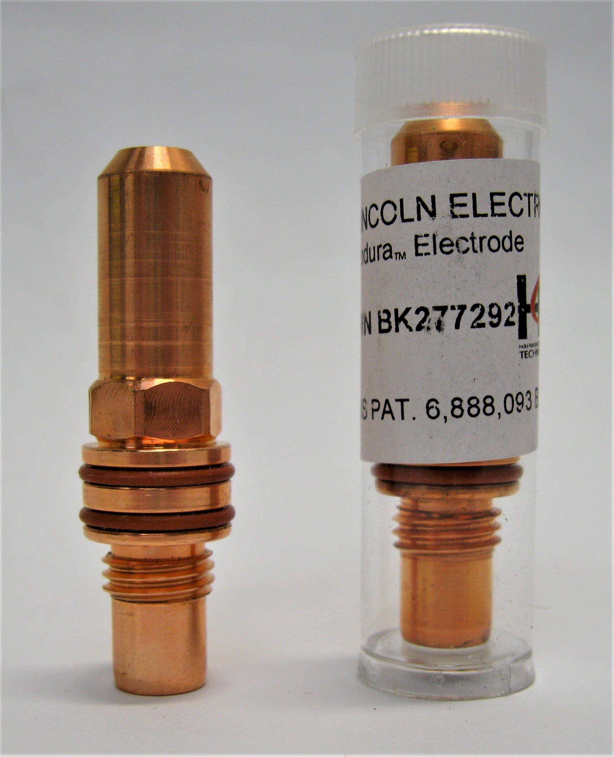 Copper Electrode - 150A - BK277292 (MILD STEEL, STAINLESS STEEL-AIR, ALUMINUM)