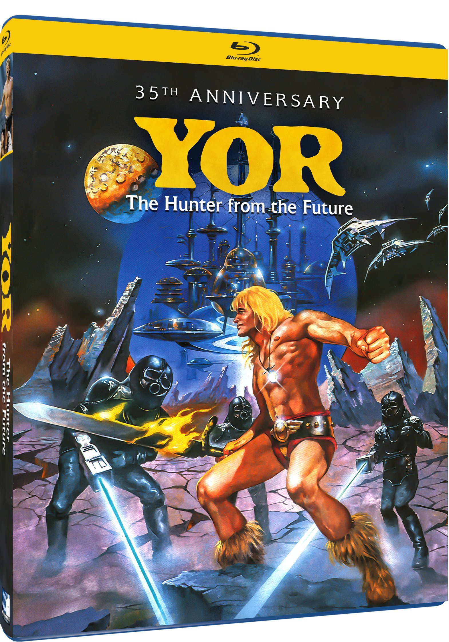Blu-ray : Yor, The Hunter From the Future (35th Anniversary Edition) (Blu-ray)