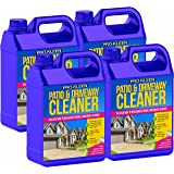 Pro-Kleen Patio & Driveway Cleaner (20L) - Removes Green Mould, Algae & Lichen - Powerful, Easy to Use Fluid / Liquid Cleaning Solution - Powers Through Stubborn Dirt & Grime - Use on Patios, Driveways, Block Paving, Concrete Flags, Steps, Paths and more