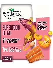 Beyond Superfood Blend Natural Dry Dog Food; Salmon, Egg, Pumpkin Recipe - 10.2 kg Bag