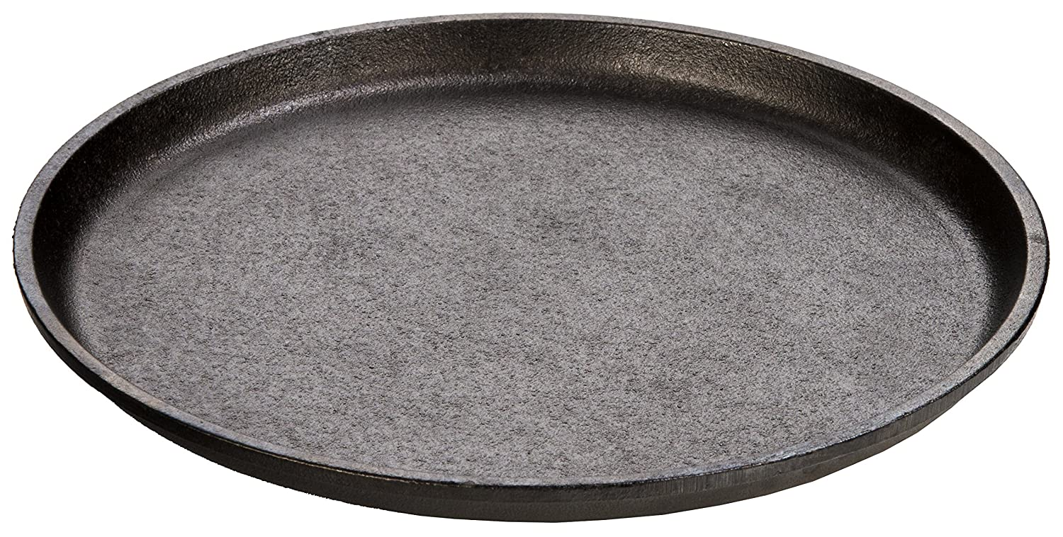 "Lodge Logic Cast Iron 9-1/4"" Round Griddle w/o Handles"