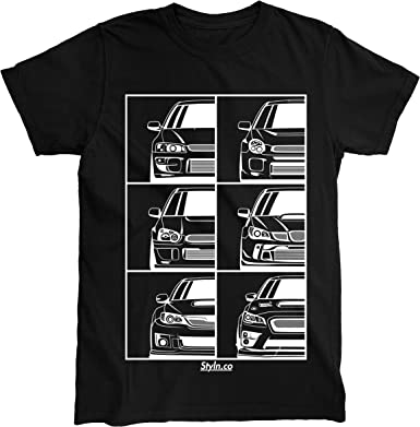 Subie Generation T-Shirt   Adult Unisex Car Automotive Shirt