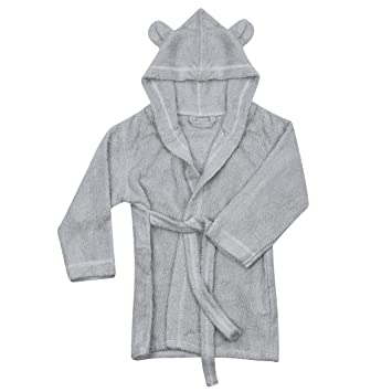 Amazon.com   Natemia Extra Soft Hooded Bathrobe for Kids  7a292cc75