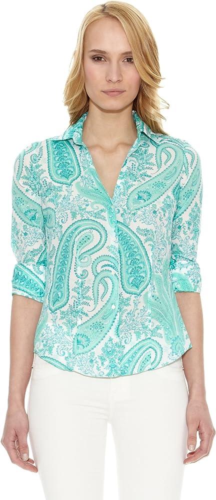 Pedro del Hierro Camisa Cashmere Azul M: Amazon.es: Ropa y accesorios