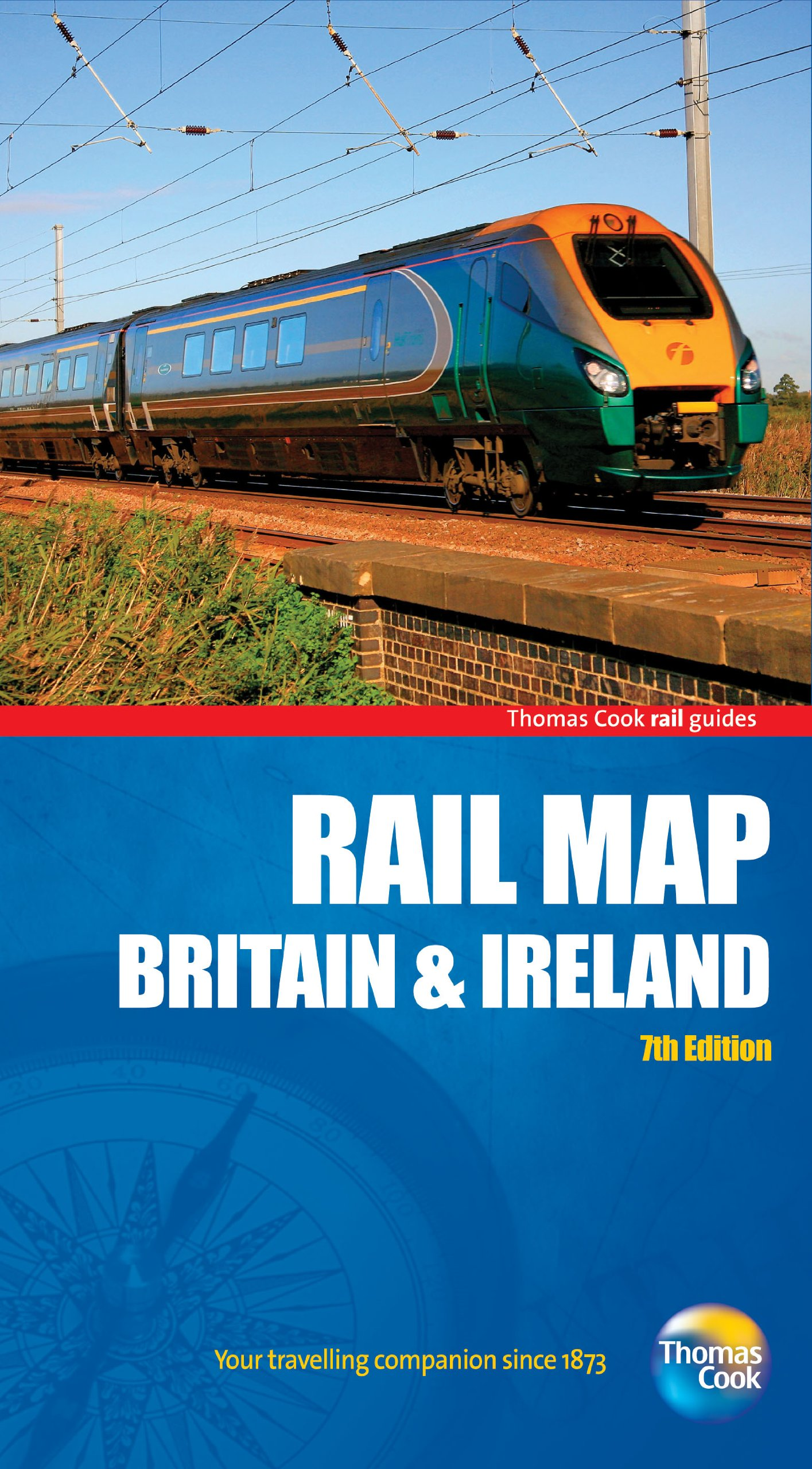 Worksheet. Rail Map of Britain  Ireland 7th Rail Guides Amazoncouk