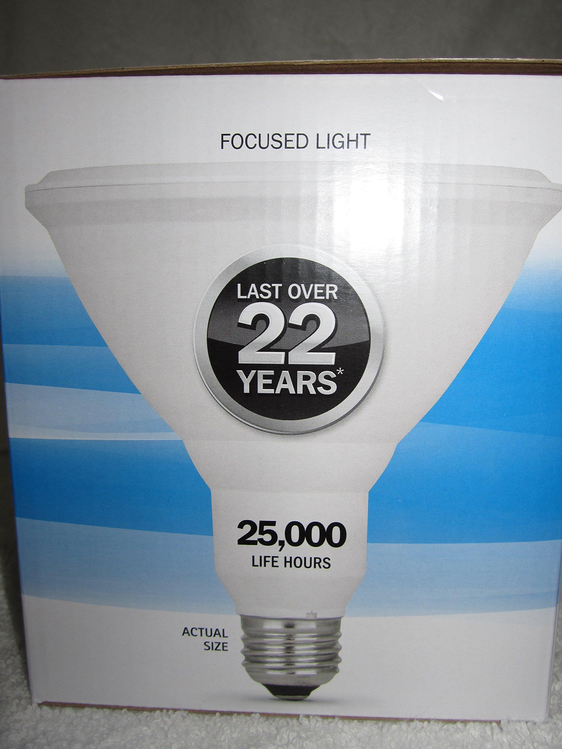 Feit Electric - PAR38 LED Bright White, Dimmable, 90 Watt (2 pack)