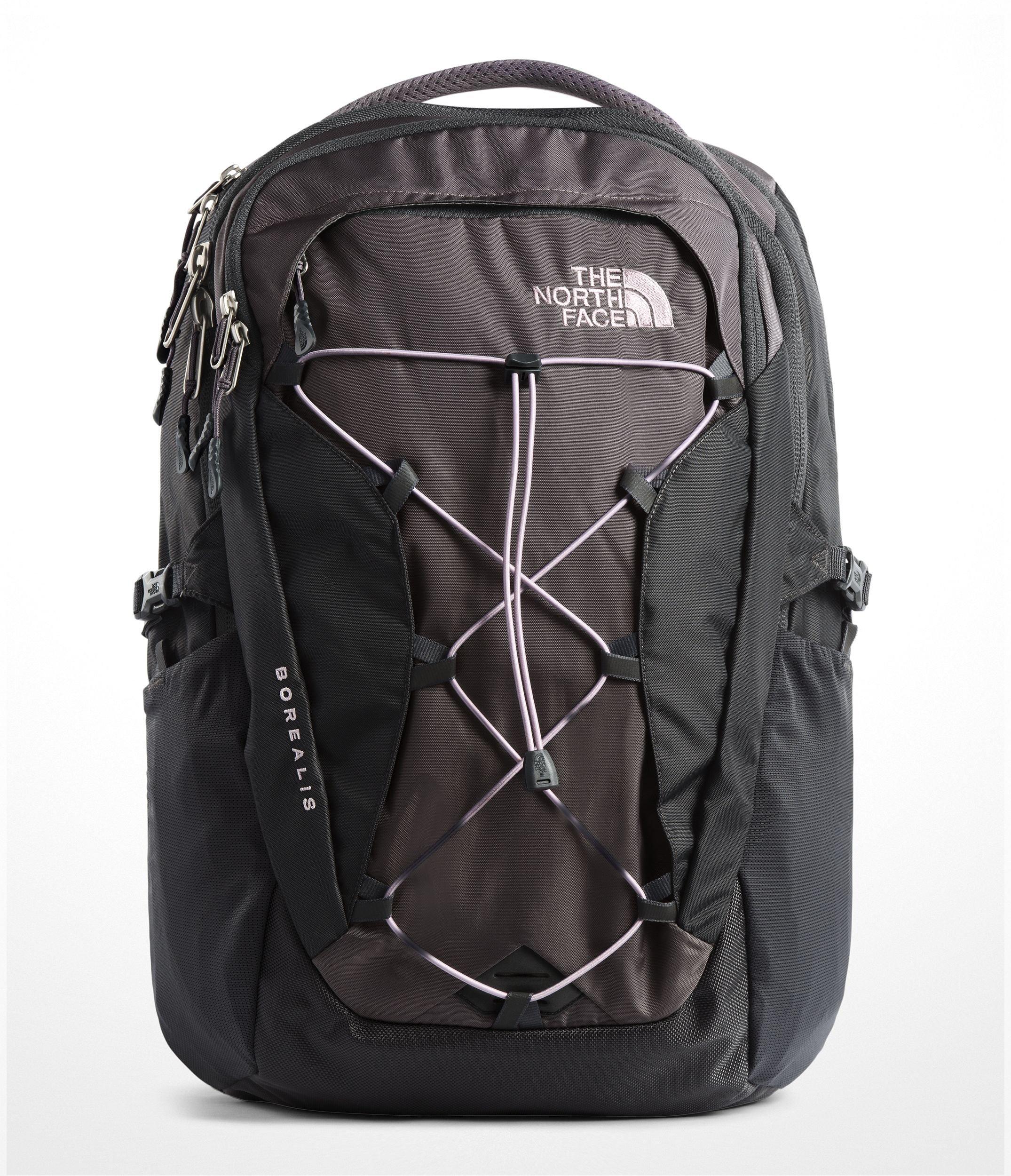 The North Face Women's Borealis Backpack - Rabbit Grey & Asphalt Grey - OS