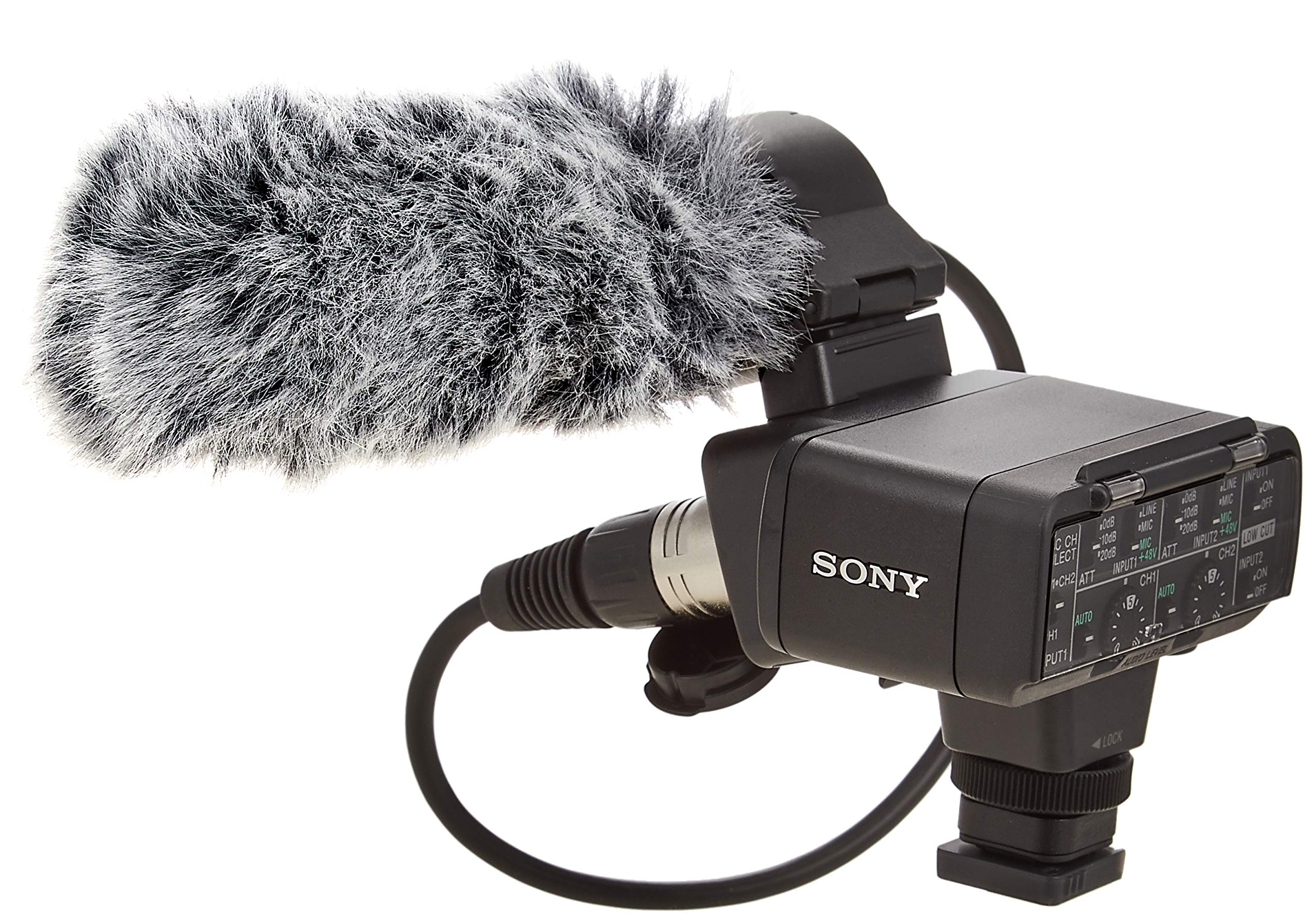 Sony XLR-K2M Adaptor Kit with Microphone by Sony