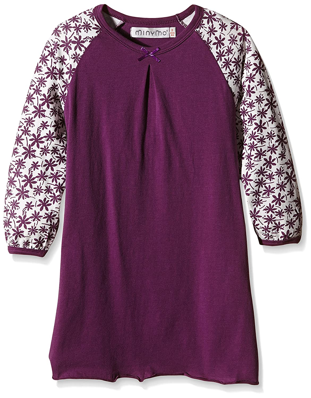 Minymo Girl's Chen 67 Nightdress Long Sleeve Pyjama Top 170067