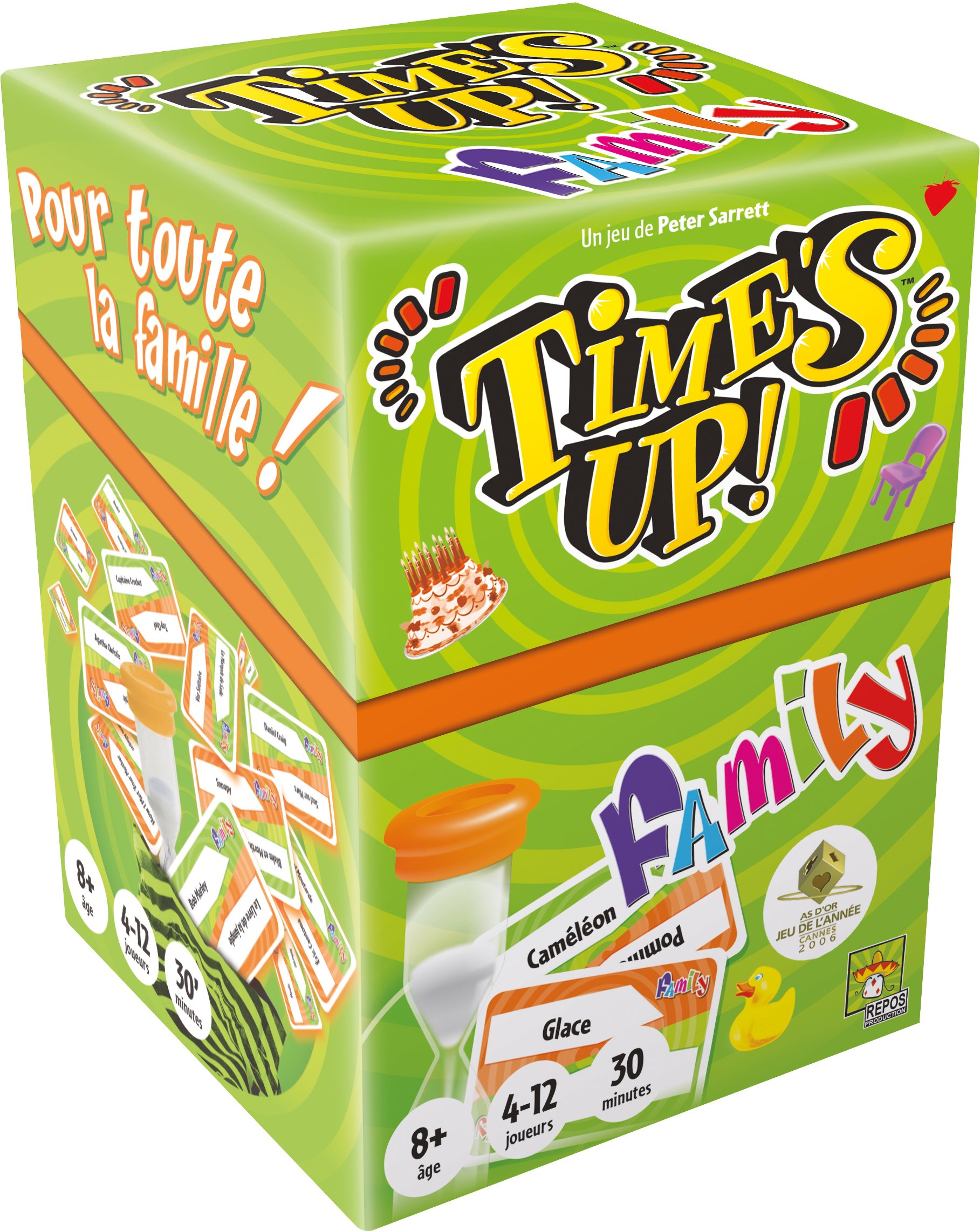 Asmodee - TUF1N - Time's Up - Family - Jeu d'Ambiance product image