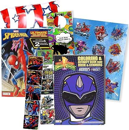 Power Rangers Dino Charge Libro Da Colorare E Adesivi Super Set Bundle Dino Chargers Libro Da Colorare Con Power Rangers Dino Chargers Adesivi Appendini Speciali Amazon It Casa E Cucina