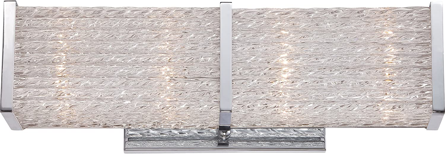 Quoizel PRN8604C Paragon 4-Light Bath Light, Polished Chrome