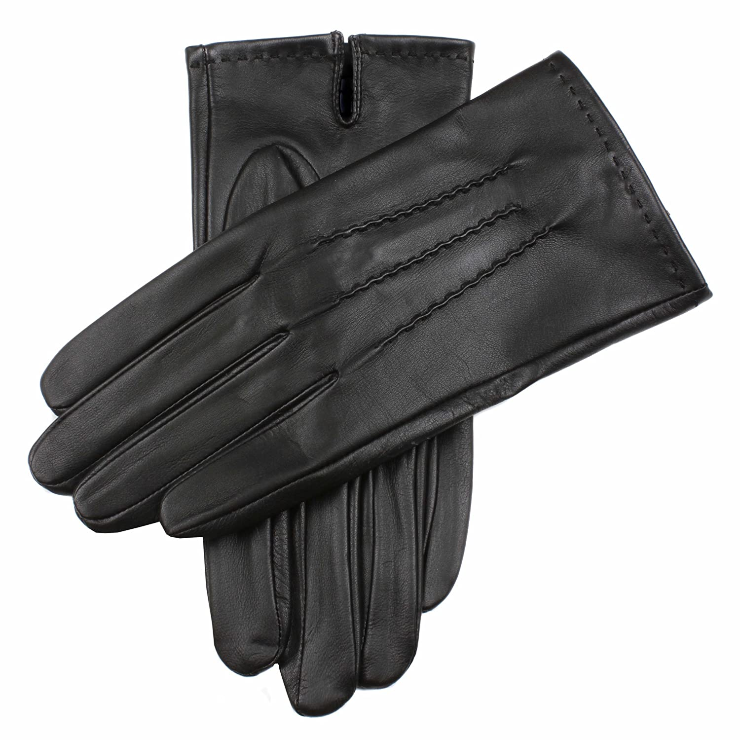 Dents Mens Aviemore Leather Touchscreen Gloves