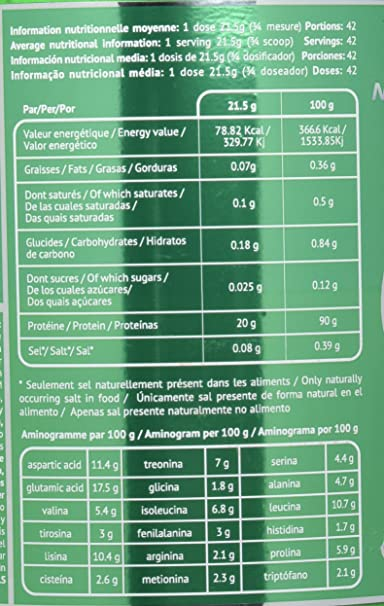 EU Nutrition Zero Pure ISO Évolution Strawberry - 908 gr ...