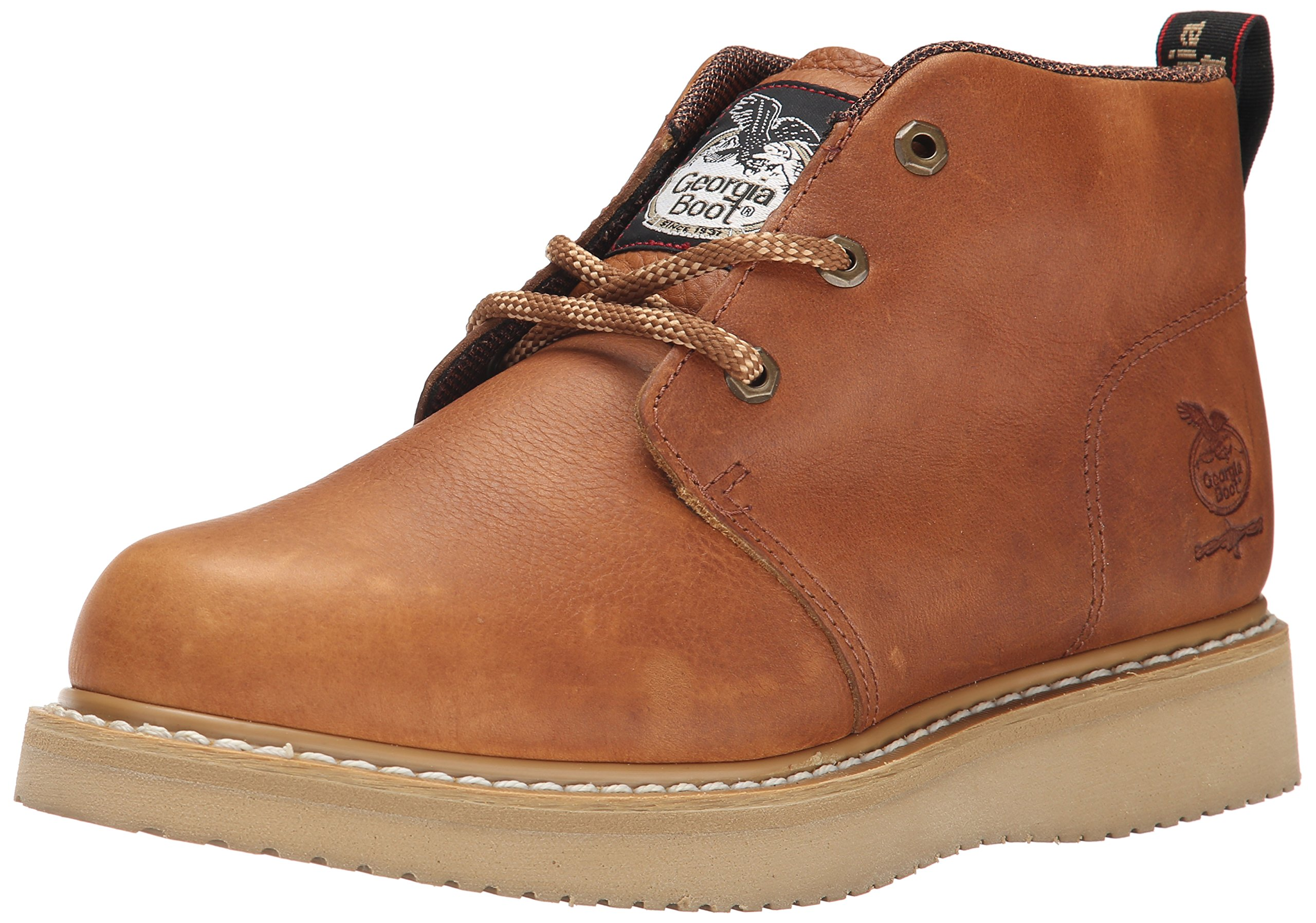 Georgia Boot Men's GB1222 Chukka Boot,Barracuda Gold,10.5 W US