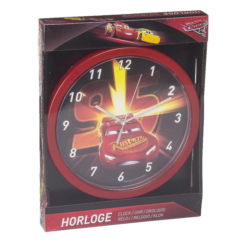 Horloge CARS DISNEY Horloge Murale Ameublement et D/écoration 25cm LQ2006