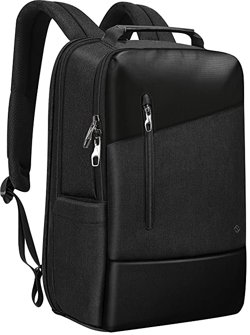 8f3b53b72a41 FINPAC Travel Backpack, Anti Theft TSA Friendly Water Repellent Ergonomic  Rucksack with USB Port and Headphone Jack for Business College Work Daypack  ...