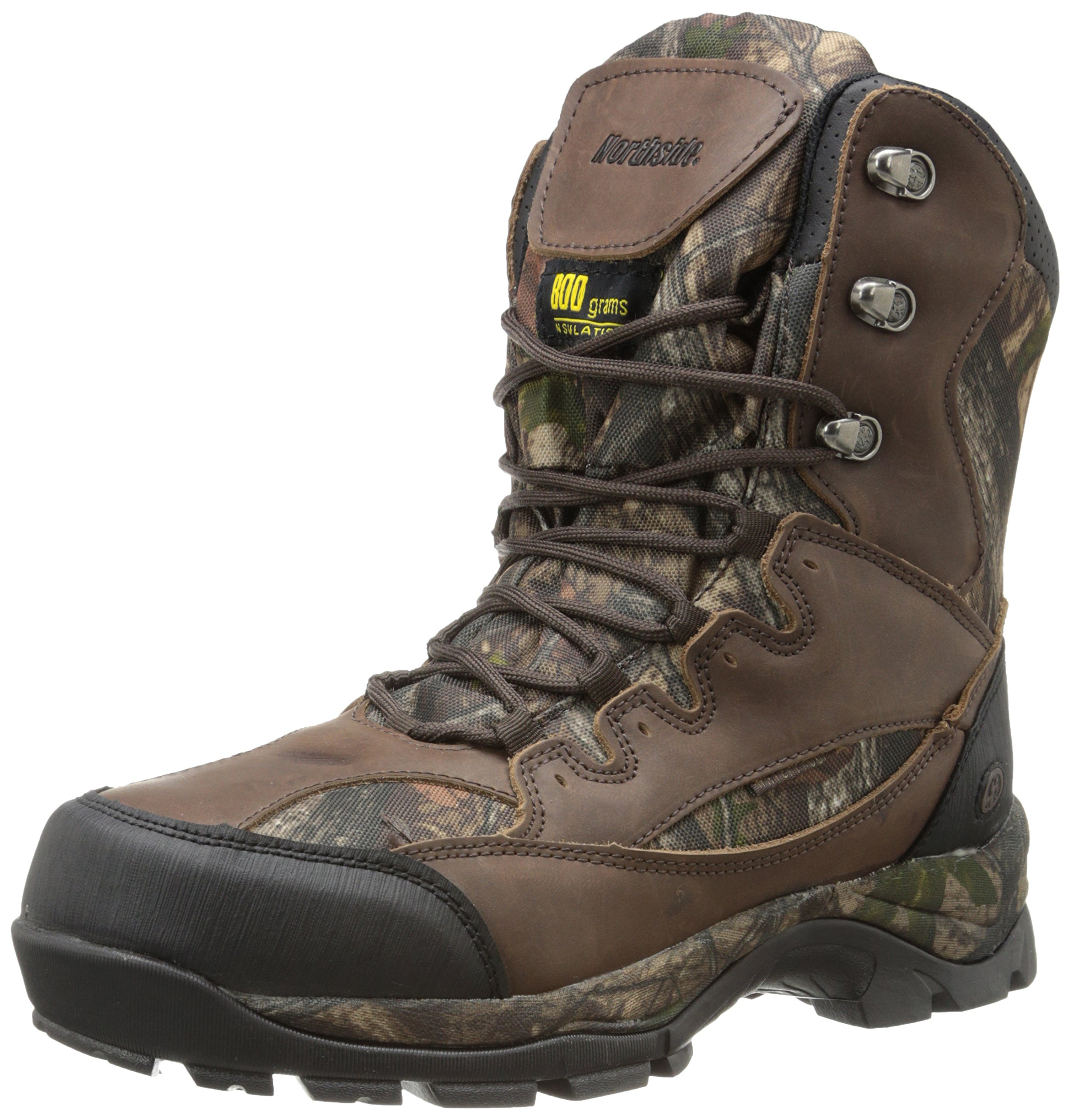 Northside Men's Renegade 800 Hunting Boot,Brown Camo,13 M US