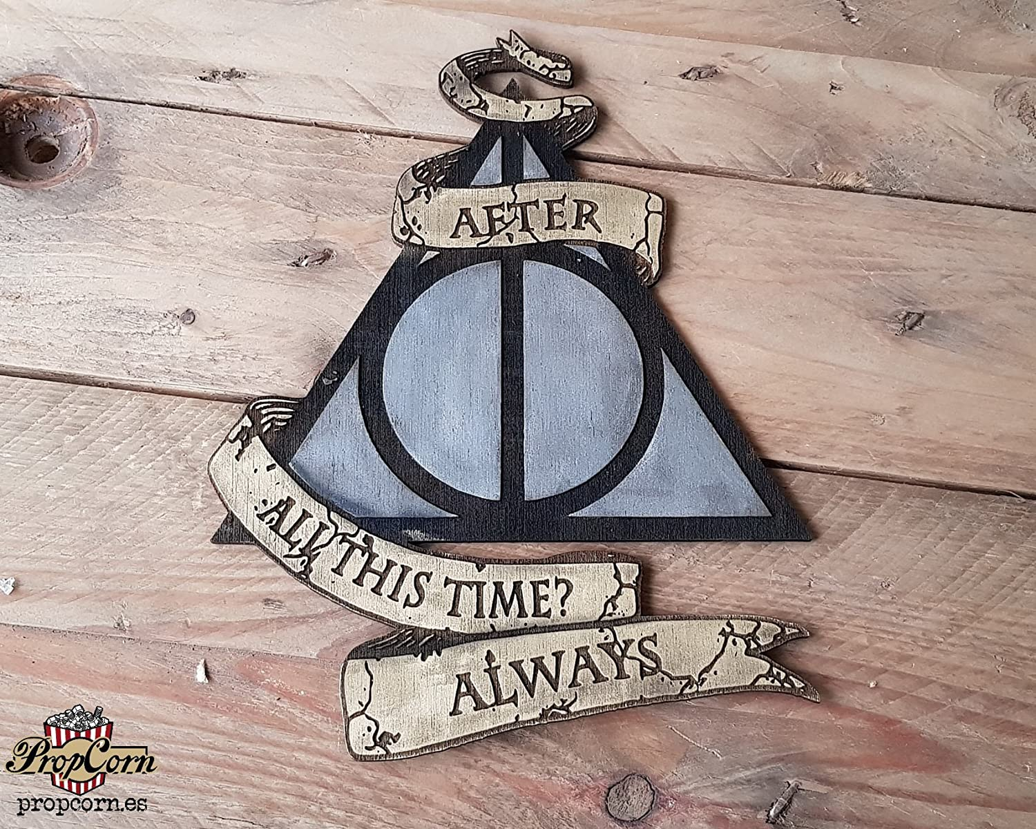 After all this time always harry potter personalised photo sign plaque