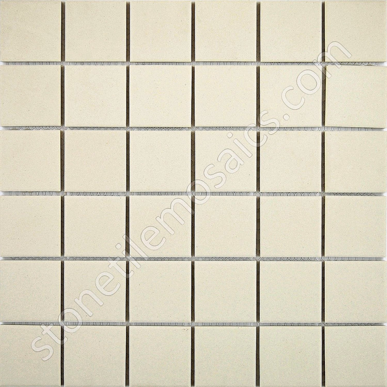 Grey Speckled Unglazed Porcelain Mosaic Square 2x2 Inch Porcelain