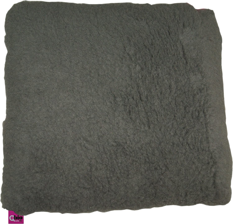 Cojín antiescaras o úlceras por presión, cómodo, forma cuadrada, 44 x 44 x 11 cm, Color gris