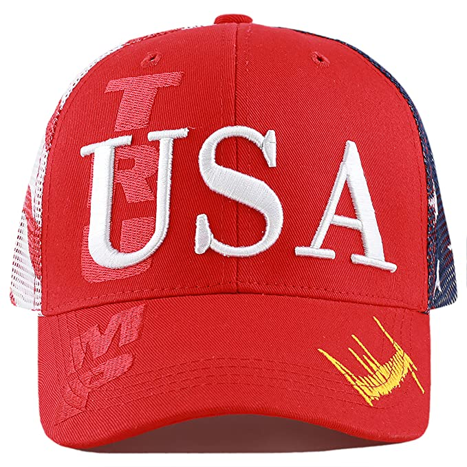 """a7c1605ae The Hat Depot Exclusive Donald Trump 2020""""Keep America Great/Make  America Great Again"""