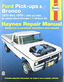 Ford pick ups bronco automotive repair manual 1973 1979 haynes ford pick ups and bronco 73 79 manual fandeluxe Image collections