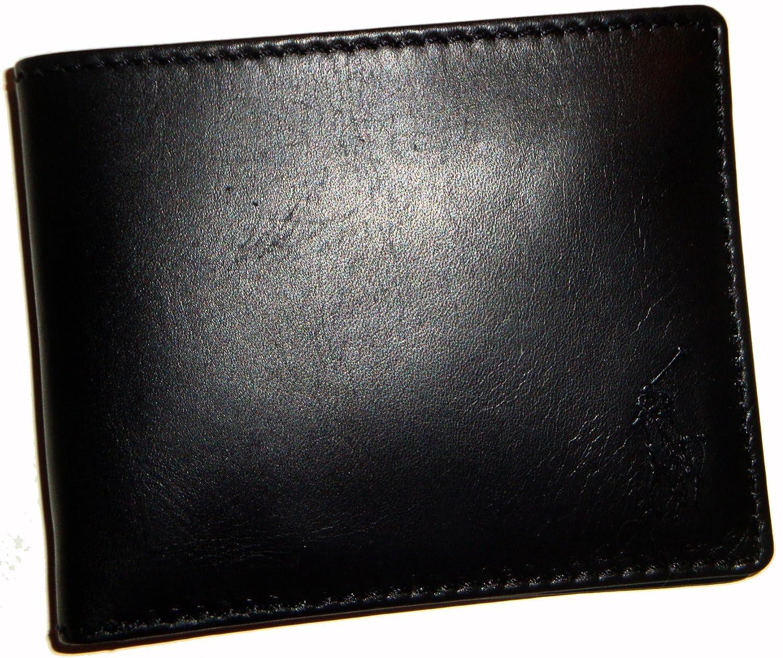 Ralph ukClothing Wallet Leather Billfold co Polo Lauren BlackAmazon nmN80w