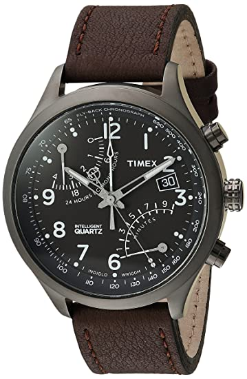 Timex Intelligent Quartz Fly-Back cronógrafo Reloj