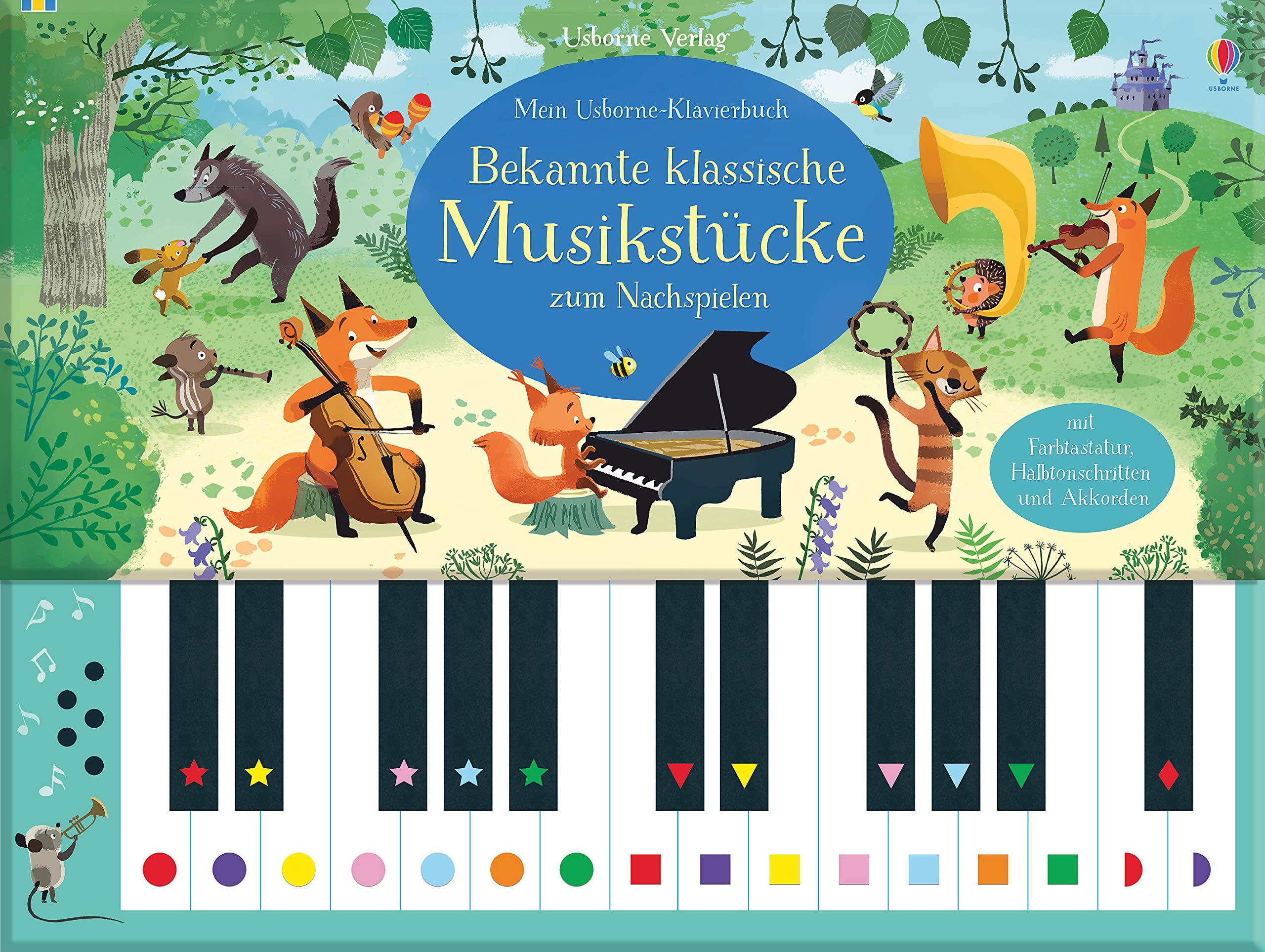 Mein Usborne Klavierbuch  Bekannte Klassische Musikstücke Zum Nachspielen
