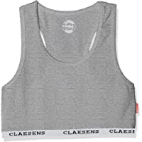 Claesen's Girls Crop Top Sujetador Deportivo para Niñas