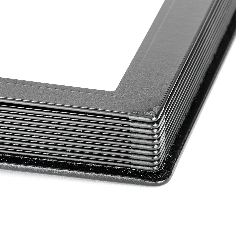 8x10 15 Page Professional Slip-in Albums by Tuscany Albums JBP Enterprises , Black//Black
