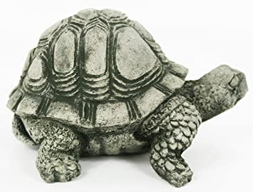 Perfect Turtle Concrete Statue Cement Animal Garden Statue Turtles Figurines Back  Yard Art