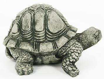 Perfect Turtle Concrete Statue Cement Animal Garden Statue Turtles Figurines Back  Yard Art