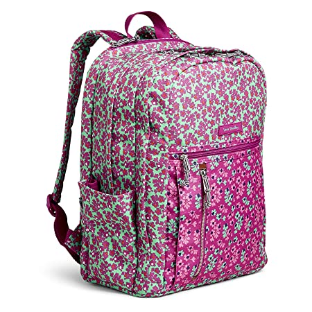 Vera Bradley Lighten Up Printed Dot Grand Backpack, Ditsy