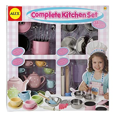 ALEX Toys Complete Kitchen Set: Toys & Games