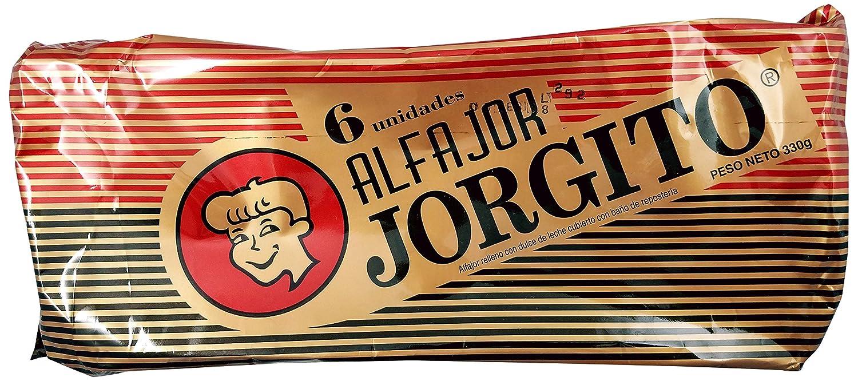 Amazon.com : JORGITO Alfajor Agrupado Chocolate, 6 ct : Grocery & Gourmet Food