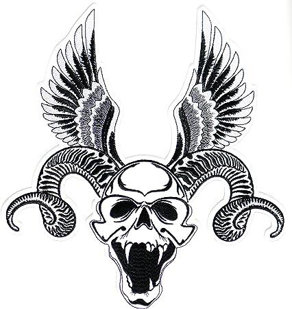 Large Back Patch l Beauty Skull