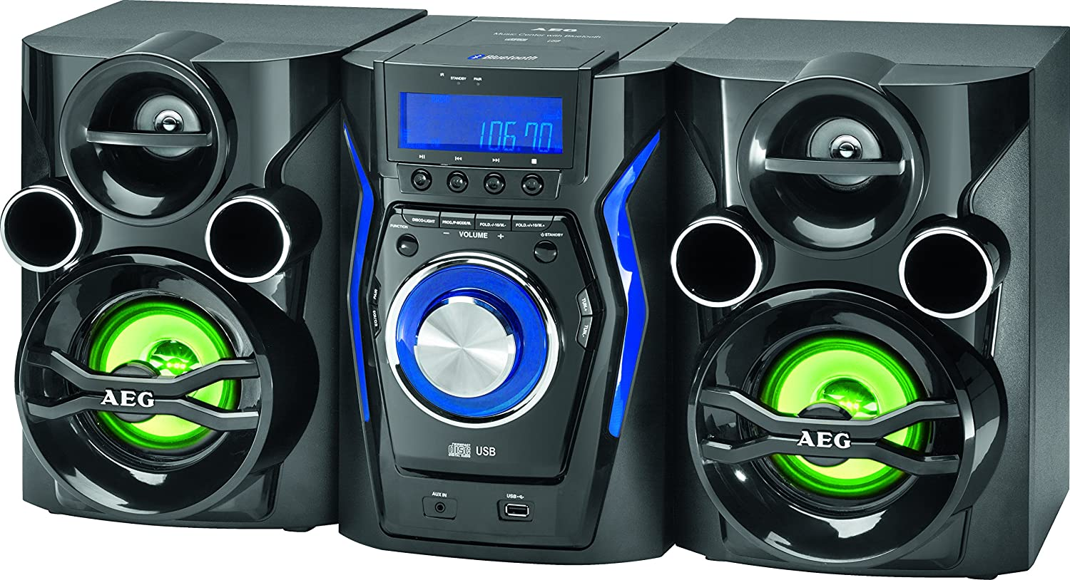AEG MC 4462 BT Musik Center mit Bluetooth thumbnail