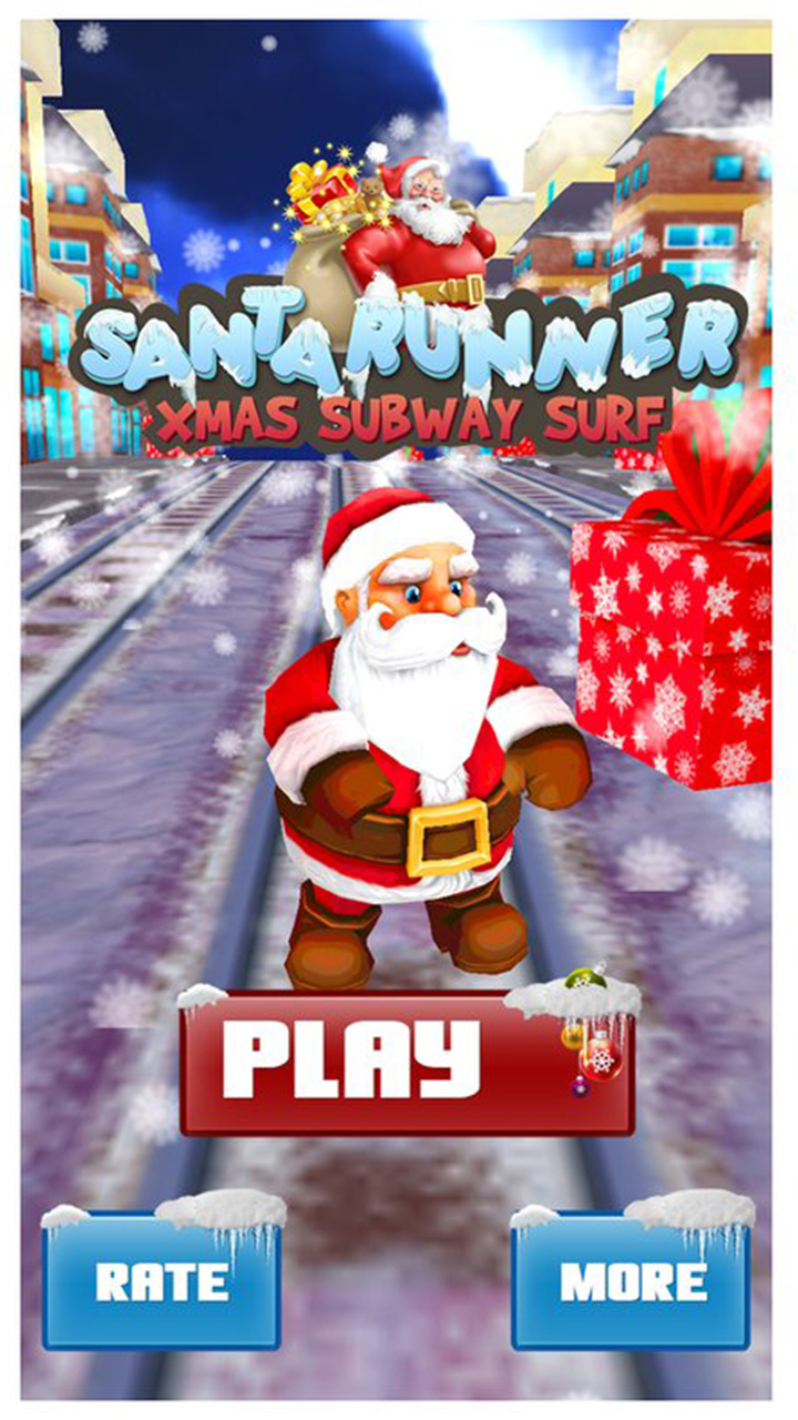 Subway Surf Maze Endless Running Adventure 3D: Santa Christmas Xmas Run Runner Adventure Games Free For Kids 2018