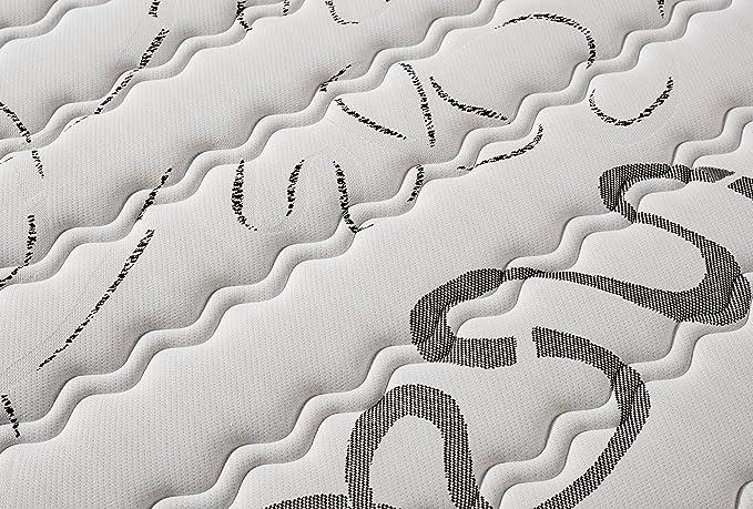 Naturalex Colchon viscoelástico Top Memory 140 x 200 cm Modelo Reversible - 7 Zonas - 24 CM: Amazon.es: Hogar