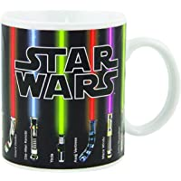Star Wars Mug, Lightsabers Appear with Heat