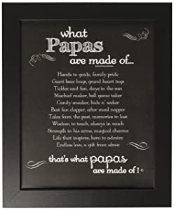 Papa Chalkboard Frame - Gift for Papa for Father's Day, Birthday, Birth of Grandchild