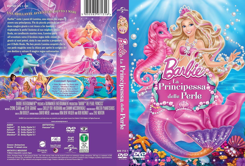 Barbie E La Principessa Delle Perle Dvd Amazonit Animazione