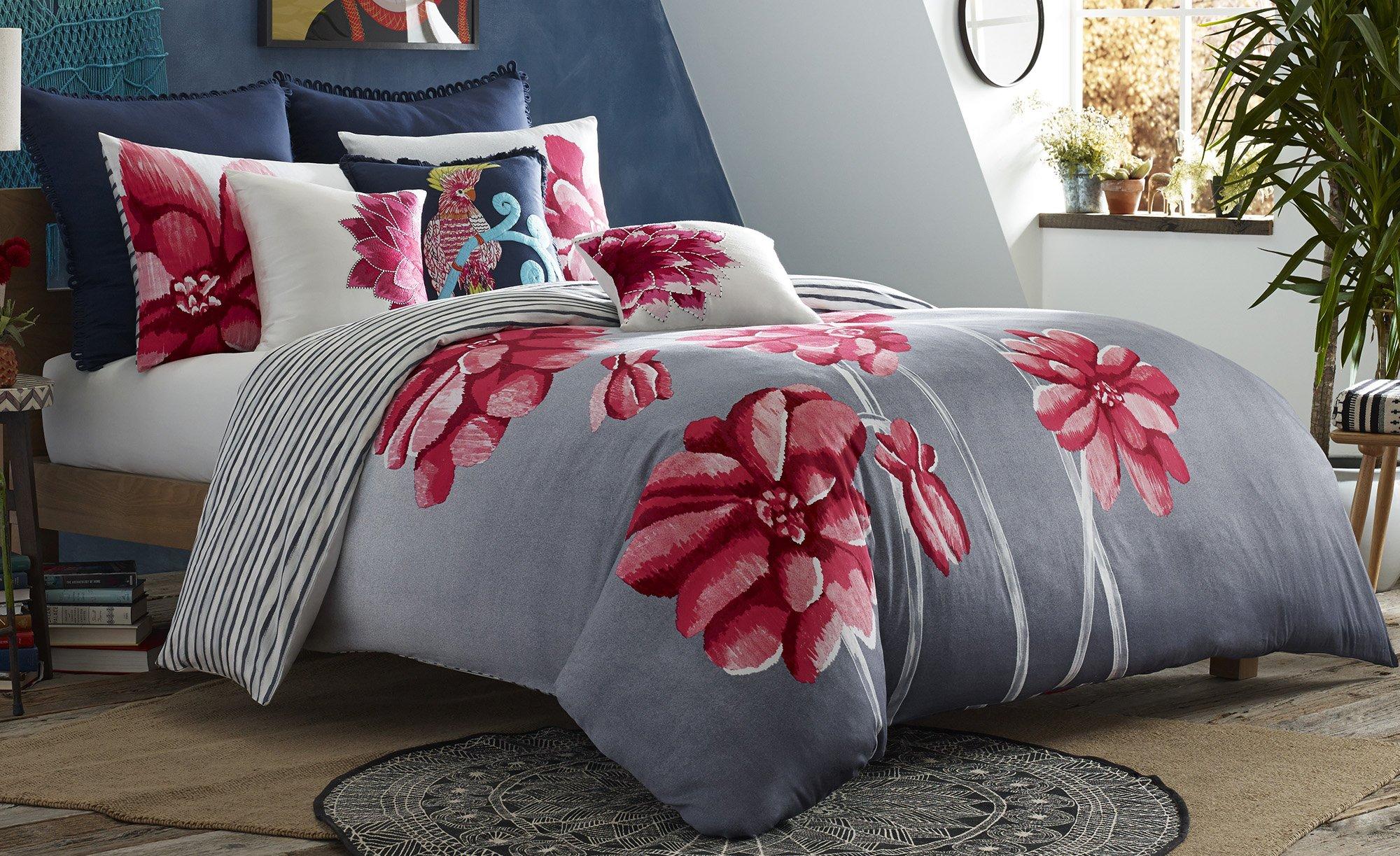 Blissliving Home 14827BEDDQUEMUL Frida 92-Inch by 96-Inch 3 Piece Queen Duvet Set, Multi